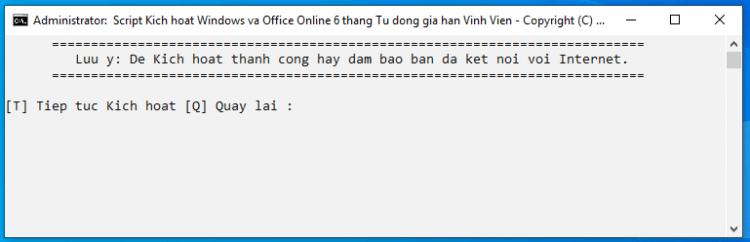 Kích hoạt windows và office vĩnh viễn