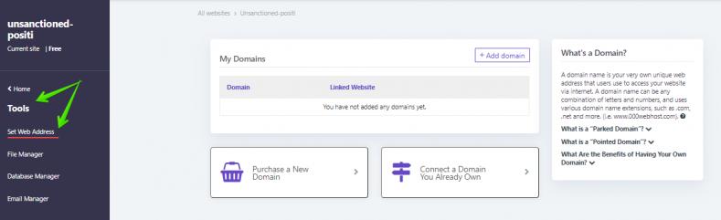 add-domain-setting